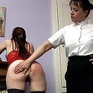 Strict & humiliating bare bottom punishments for those who break the rules.