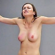 Smoking hot German chic gets her supply tits flogged red
